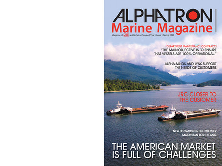 Nieuwe editie | New edition Alphatron Marine Magazine
