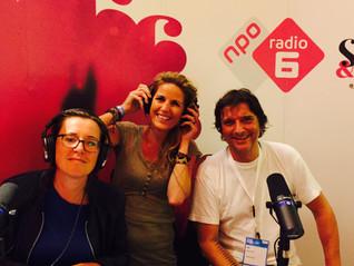 NATHALIE LANS AND RADIO 6 DURING BUMA JAZZ DAY