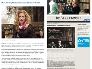 MusicDistillery in de pers / MusicDistillery in the press
