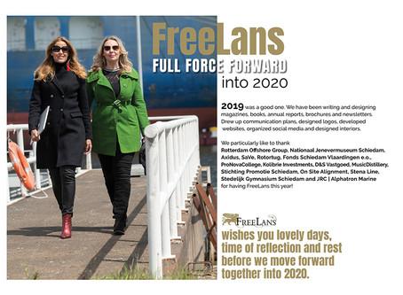 FreeLans full force forward into 2020