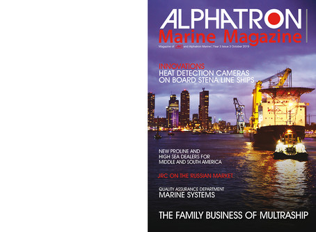 Nieuwe editie   New edition Alphatron Marine Magazine