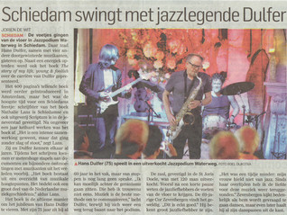 Press writes about concert and book Hans Dulfer
