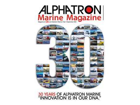 30 jaar / 30 years Alphatron Marine