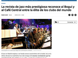 The most prestigious jazz magazine recognizes Bogui and Café Central among the elite of the world&#3
