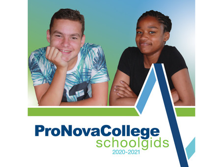 Schoolgids | School guide ProNovaCollege