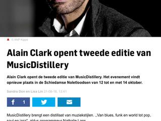 Alain Clark bij MusicDistillery / Alaini Clark at MusicDistillery