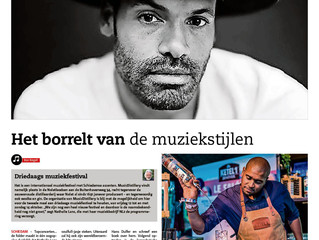 MusicDistillery in het Nieuwe Stadsblad / MusicDistillery in local newspaper