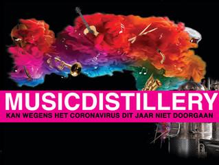 MusicDistillery kan dit jaar niet doorgaan