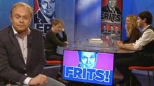 Nathalie Lans guest on talkshow FRITS!