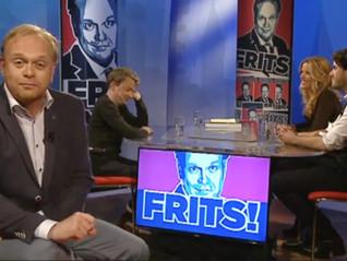 Nathalie Lans guest on talkshow FRITS!