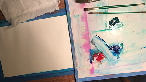 Acrylic Paint Techniques