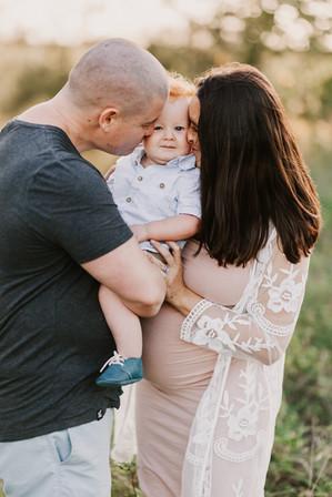 Boho maternity photoshoot Brisbane