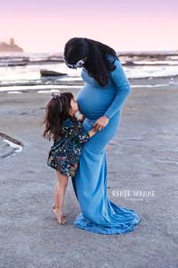 Baby bump photo