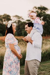 Family Maternity Photography Session