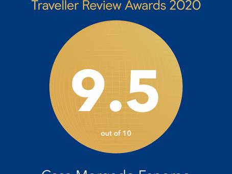 Casa Morgado Esporão distinguida nos Traveller Review Awards 2020