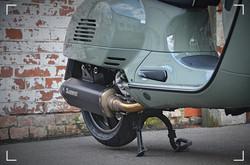 Vespa GTS 300 Terra Fango