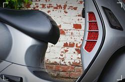 Vespa GTS300 Porsche GT Silber