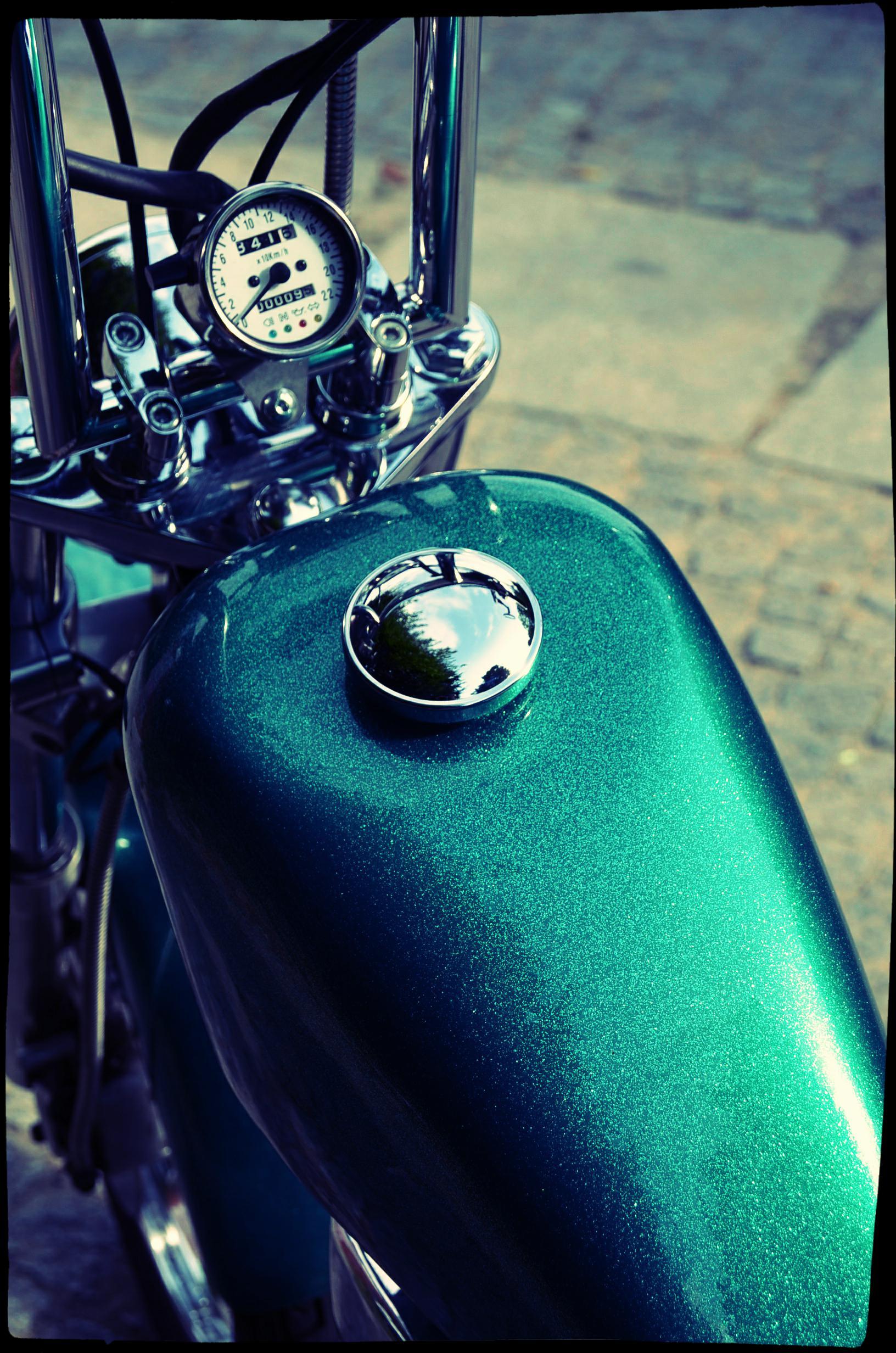 ShamRock - Suzuki Savage 650cc