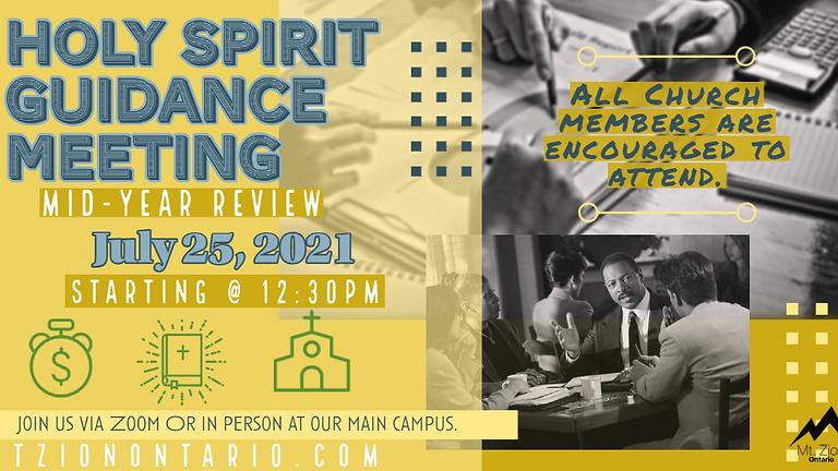 Holy Spirit Guidance Meeting