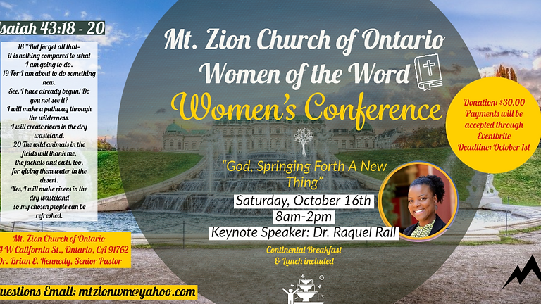Women's Ministry Conference