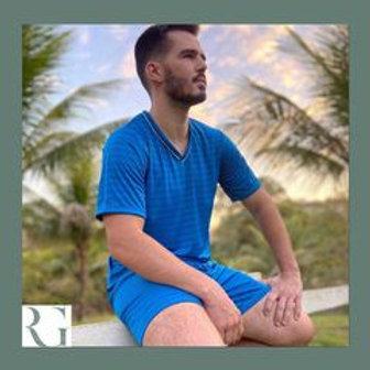 Pijama masculino de liganete