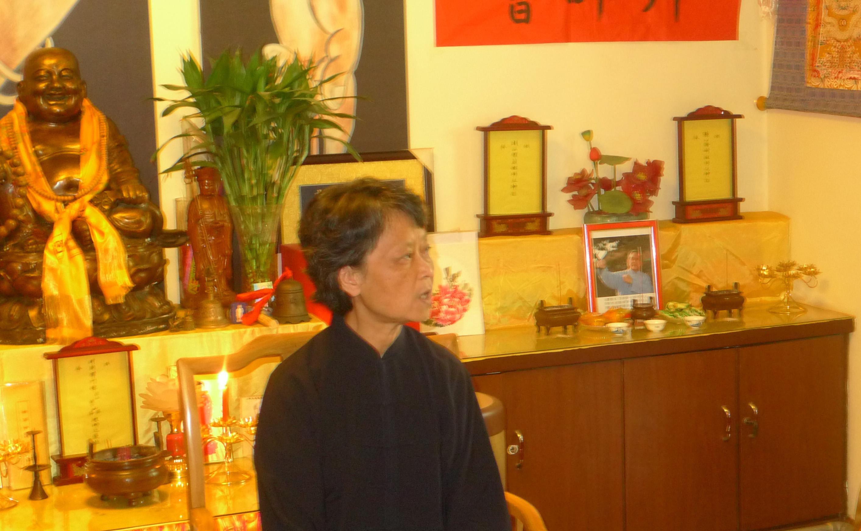 Luo Liwei laoshi - Cérémonie baishi