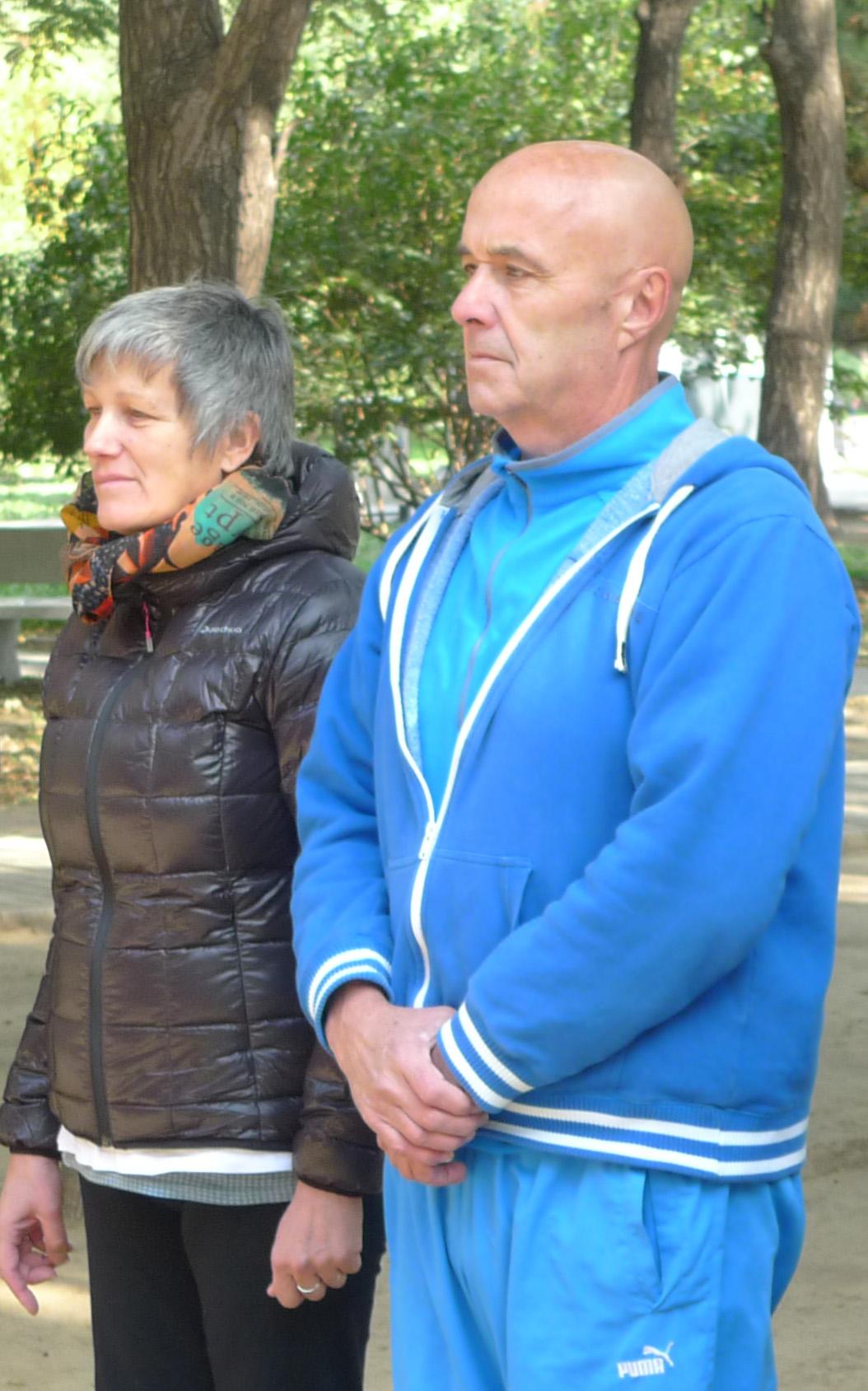 Gilles & Brigitte - Pékin 2014