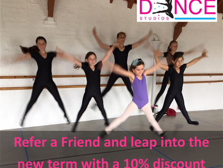 Refer a Friend - you get 10% Off and so do they!