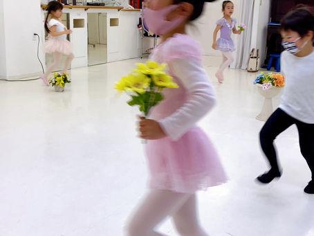 バレエをしているとスキップが めちゃくちゃ綺麗です🌸