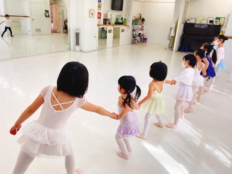 バレエを通じて育む社会性