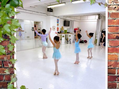 新1年生 バレエ歴3年 こんなに美しくなる!!