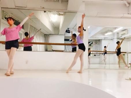 バレエを再開する生徒様増えてます❤️