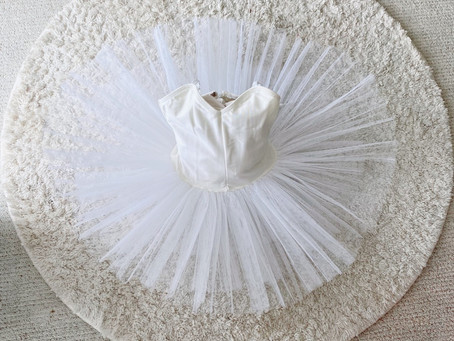 2.3歳のバレエ衣装!美しい思い出