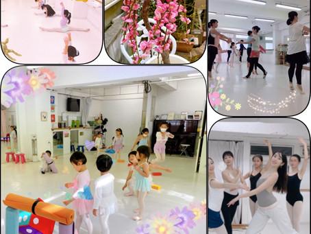 大人、初等科、中等科、バリエーション、経験者バレエと盛りだくさんの土曜日です💕