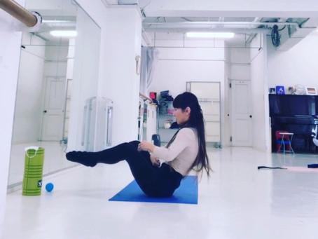 ローリングボール 簡単に体幹を鍛えるピラティスクラス体験募集💕