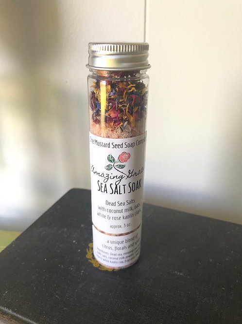 """Amazing Grace Sea Salt Soak (a Philosopy """"type"""" fragrance )"""