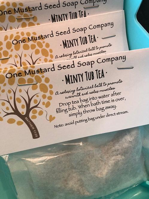 Minty Tub Tea