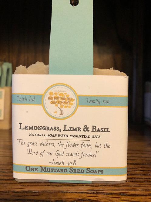 Lemongrass, Lime & Basil