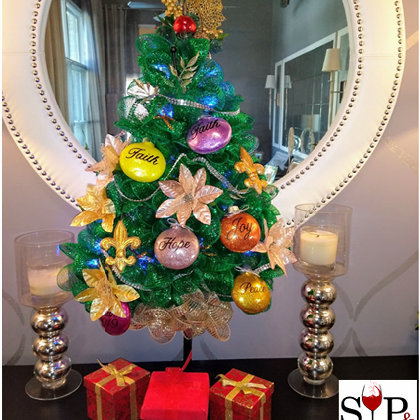 DIY Holiday Wreath (Choice of Shapes)