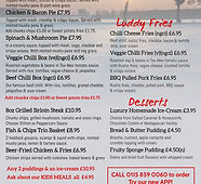 January Main menu - Made with PosterMyWa