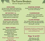 January burger menu - Made with PosterMy