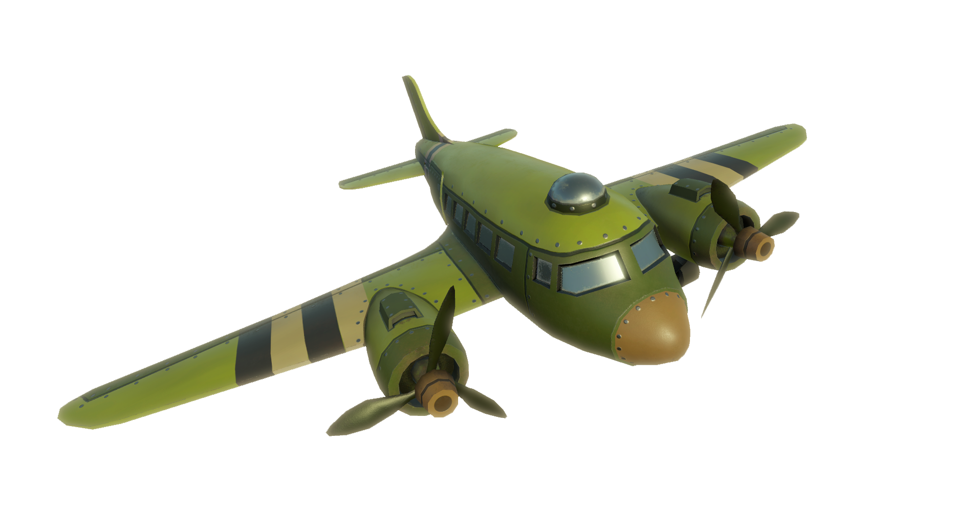 USA TroopPlane DC3Douglas