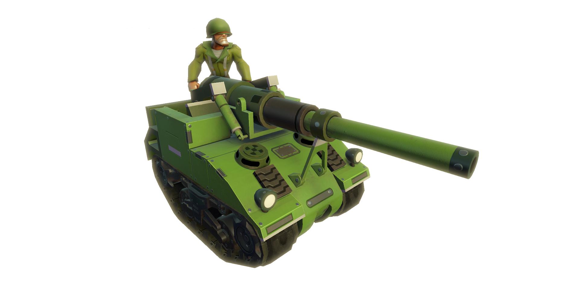 USA M40 Artillery