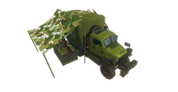USA Troop Truck Infantry