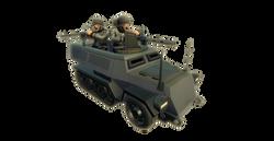 GER Halftrack Machinegun
