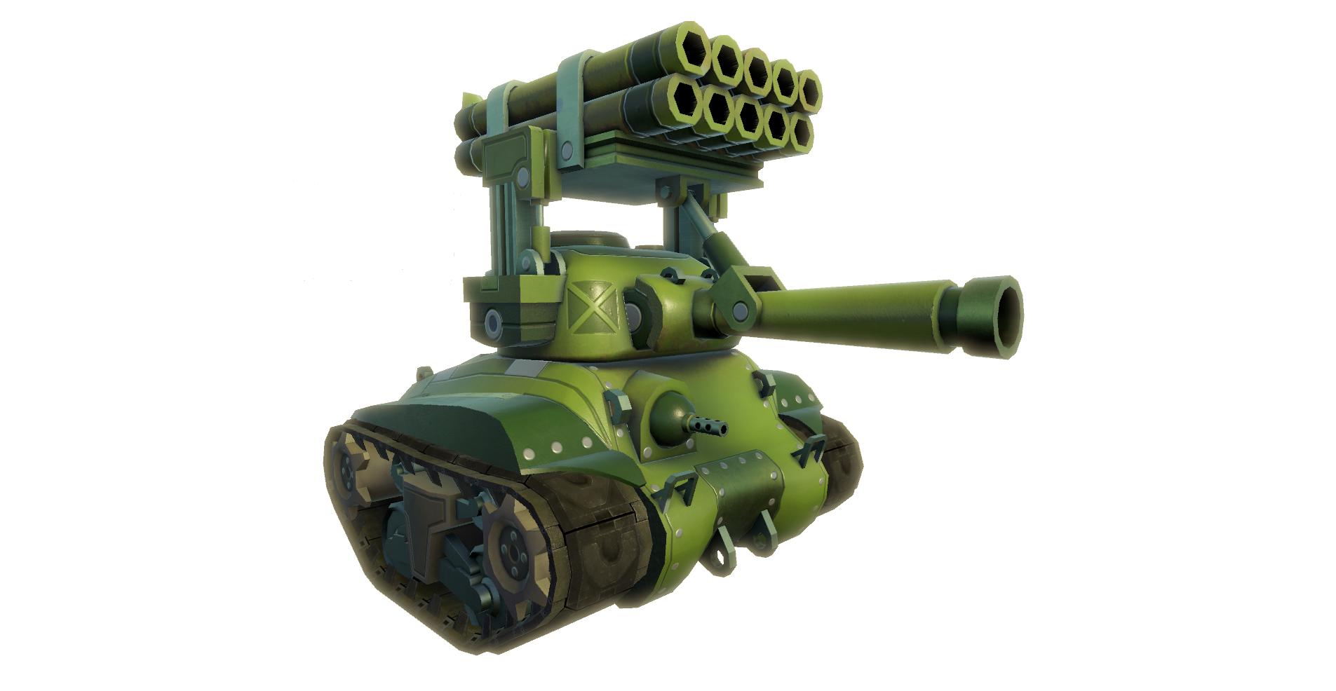 USA Tank Calliope