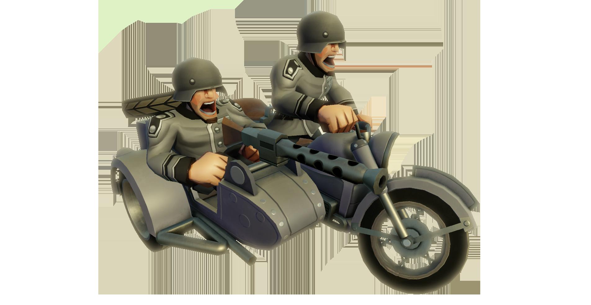 GER Motorcycle Sidecar