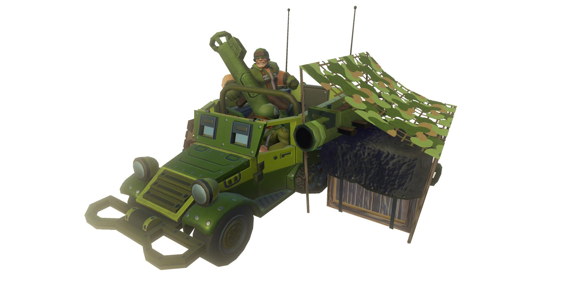 USA Troop Truck Bazooka