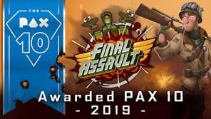 Final Assault-Picked Best  INDIE GAME 2019- PAX 10!