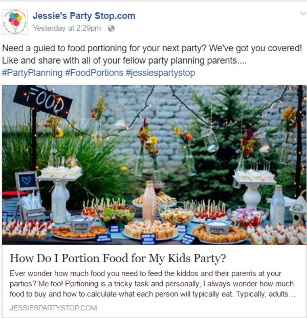JPS social media sample